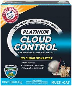 ARM & HAMMER Cloud Control Platinum Clumping Cat Litter
