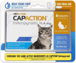 CapAction Oral Flea Treatment
