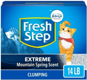 Fresh Step Scented Litter