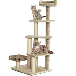 Furhaven Pet Tall Cat Tree Best Cat Trees