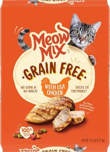 Meow Mix Grain-Free Dry Cat Food