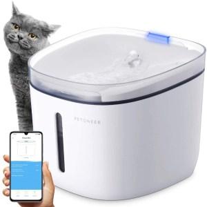 PETONEER Cat Water Fountain