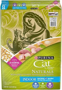 Purina Cat Chow Naturals Indoor Turkey Adult Dry Cat Food