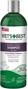Vet's Best Advanced Flea And Tick Shampoo