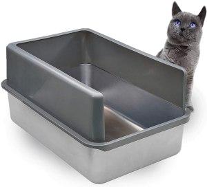 iPrimio Enclosed Sides Cat Litter Box