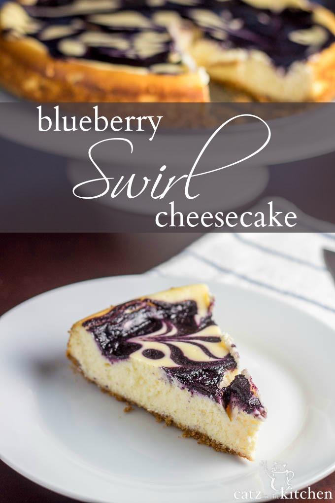 Blueberry Swirl Cheesecake PIN