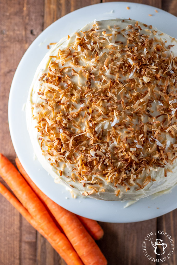 Carrot cake is pretty amazing, but I've got a couple of ideas about how to improve it - one, lose the raisins. Two, add browned butter. Yep. Done.