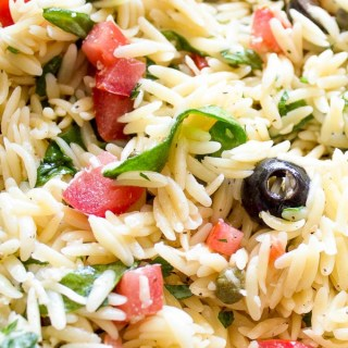 Chilled Orzo Salad