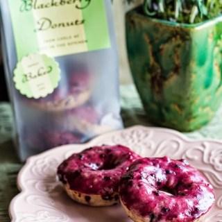Blackberry Donuts