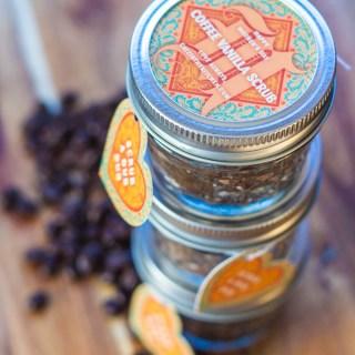 Mother's Day Gift: Coffee Vanilla Scrub