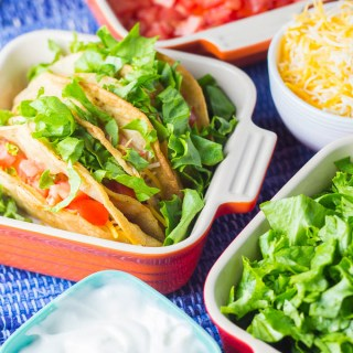 Crispy Chicken Tacos | Catz in the Kitchen | catzinthekitchen.com | #Mexican #chicken #tacos