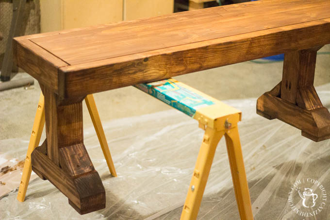 We decided to try this DIY Farmhouse Formal Dining Table project, despite having no experience with building - and we're so glad we did! It's perfect!