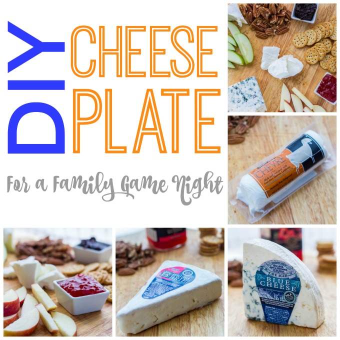 DIY Cheese Plate For A Family Game Night