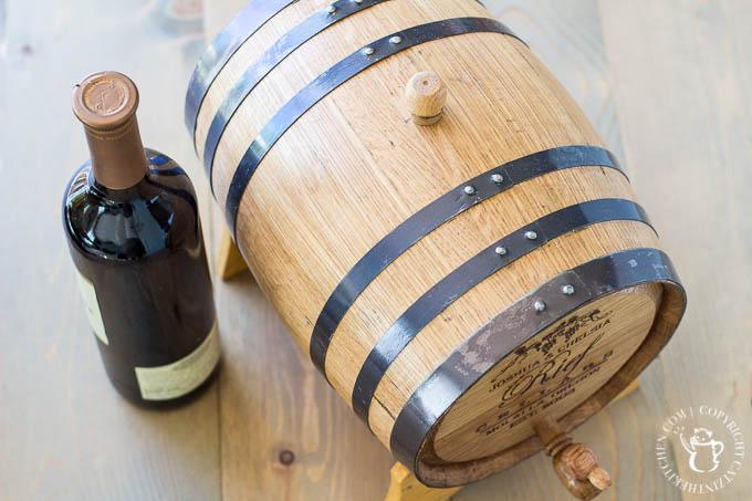 Custom Wine Barrel