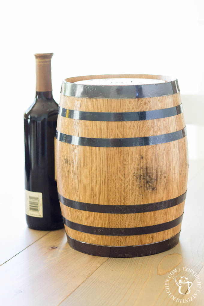 Personal Wine Barrel