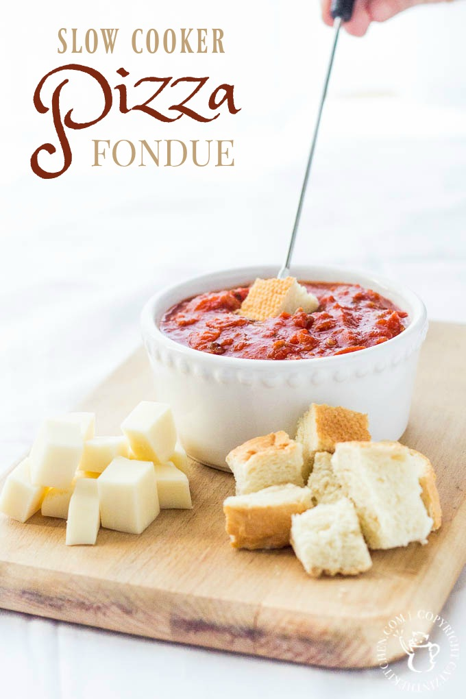 recipe: meatless pizza fondue [27]