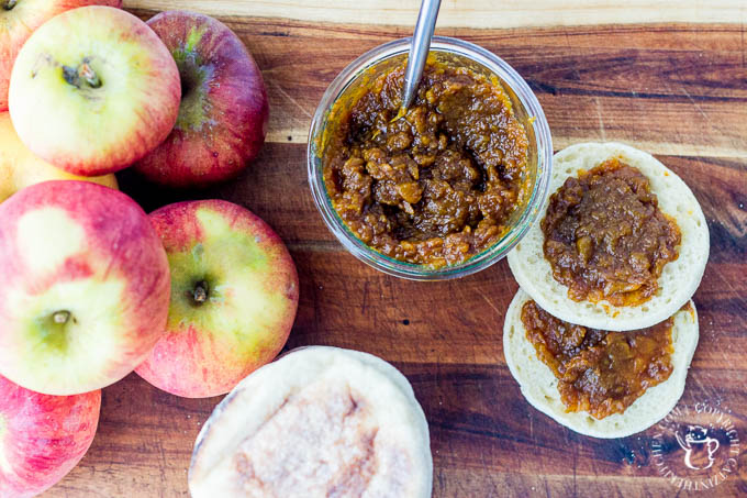 Slow-Cooker Chai Apple Butter is not only easy to make and delicious on almost anything, it makes a great seasonal gift for friends and family!