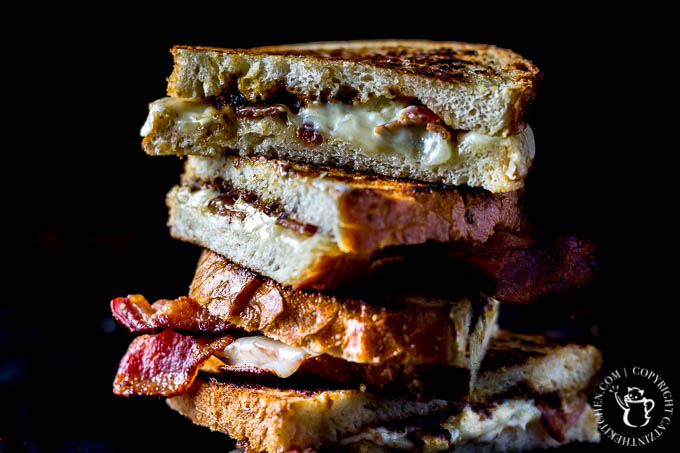Ready to elevate classic grilled cheese to dizzying new heights? Enter these grilled bacon bleu cheese & fig sandwiches. Mouthwatering is an understatement.