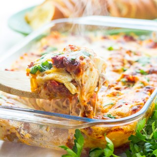 Traditional Lasagna: Two Ways (Freezer Friendly)