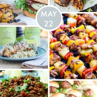 Weekly Menu for the Week of May 22nd