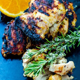 Grilled Rosemary Orange Chicken