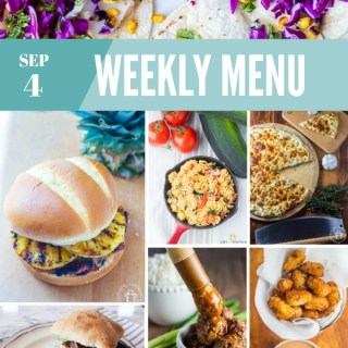 Weekly Menu for the Week of Sep 4th