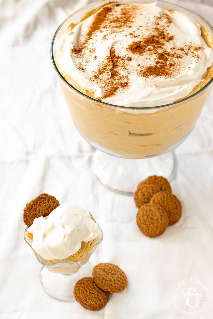 Get your autumn mood on with this simple, overnight no-bake dessert! Pumpkin Pie Pudding is easy, along with being yummy looking as well as tasting!