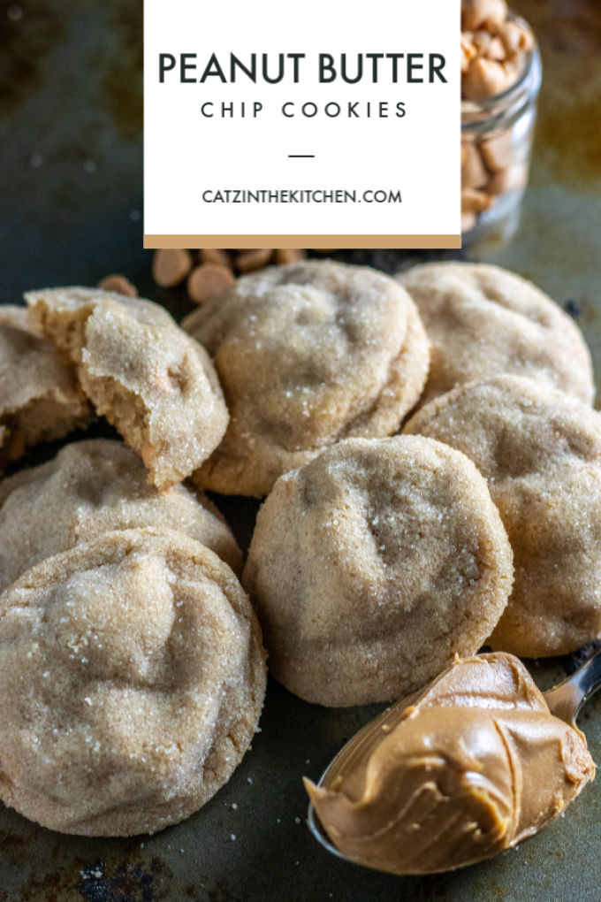 "Whether you need cookies for a holiday party or just because, make this easy, ""improved"" recipe for peanut butter chip cookies together with your kids!"