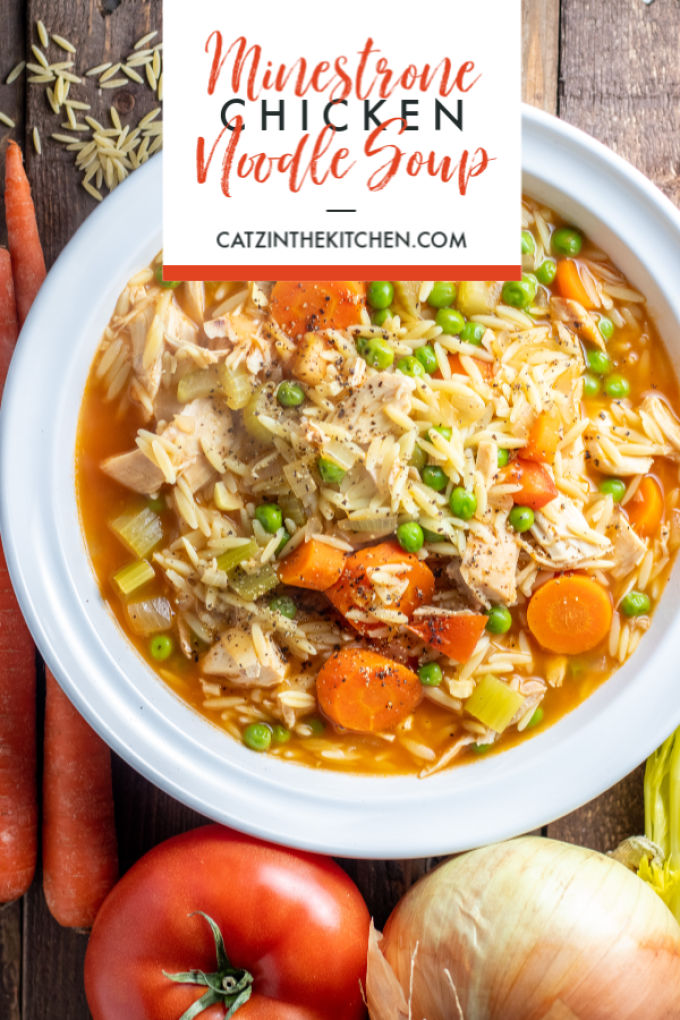 Minestrone Chicken Noodle Soup