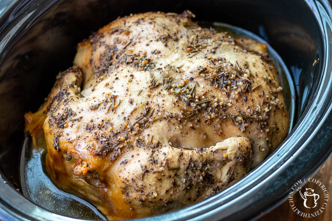 This recipe for Slow Cooker Lemon Pepper Chicken lets you get a tasty, nutritious, and affordable dinner on the table with minimal effort!