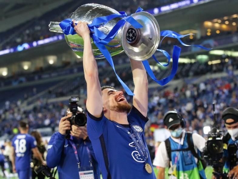 Champions League trophy Jorginho
