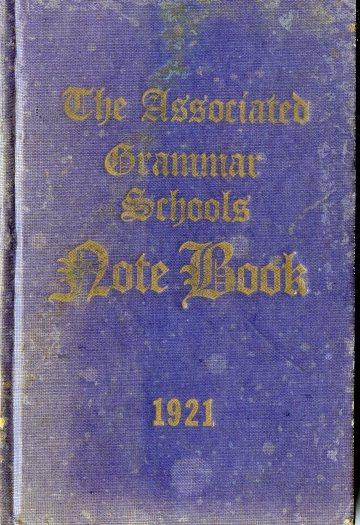 1921_AGSV School Diary