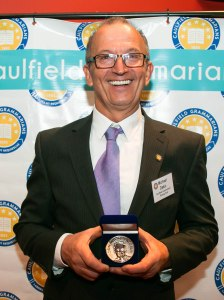 Michael Dakic with his Don Wirth medal 2019