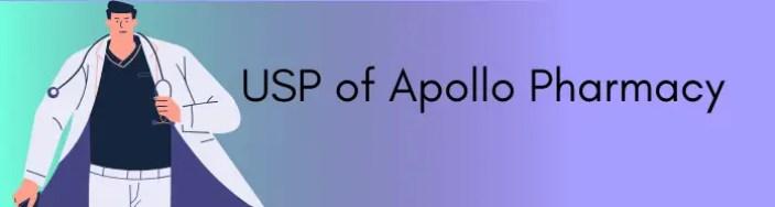 USP of Apollo Pharmacy
