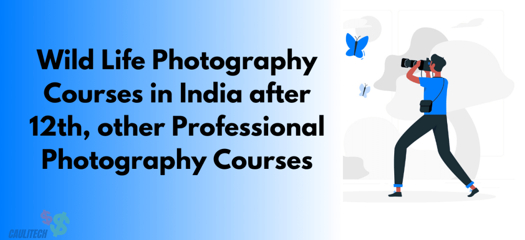 wildlife photography courses in India after 12th