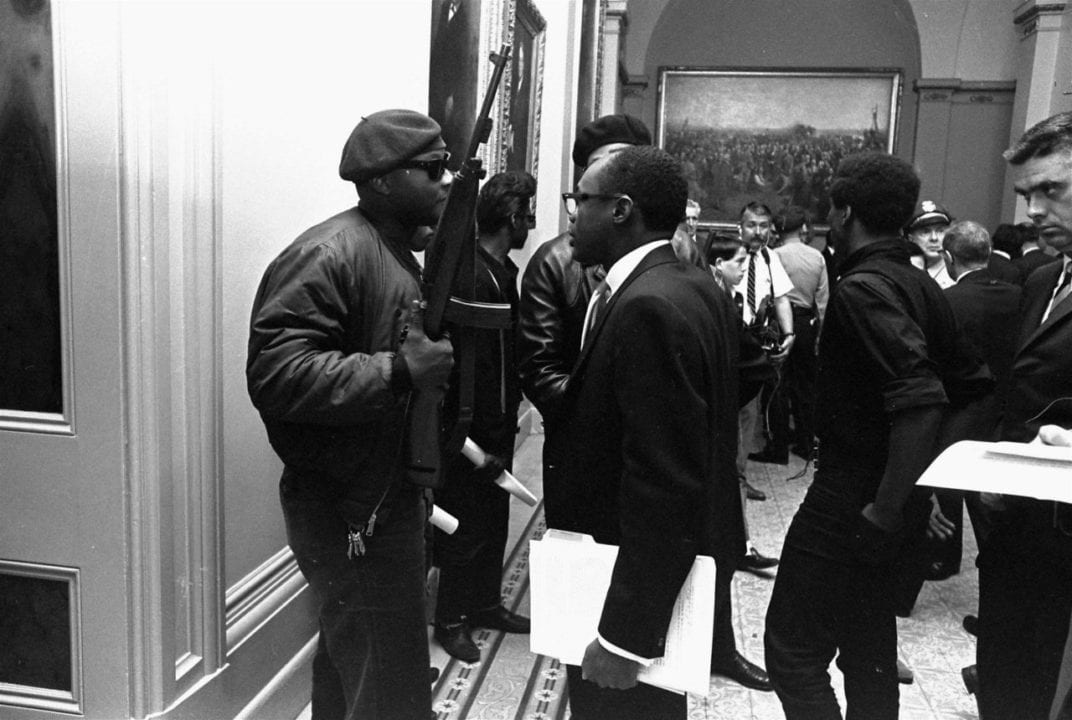 Black Panther March Sacramento 1967 4 scaled
