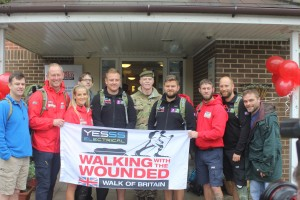 Walk of Britain team