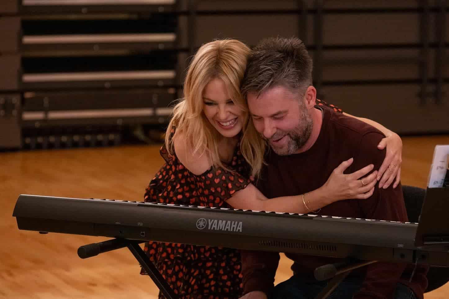 Kylie Minogue and Simon Grainger