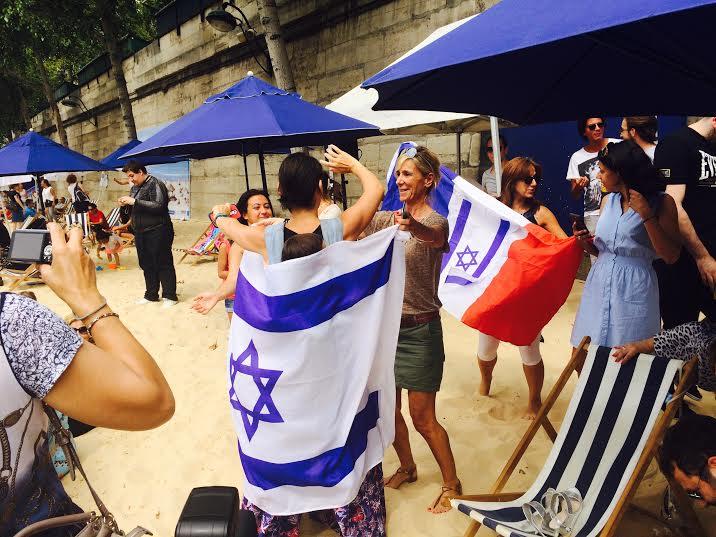 Tel Aviv sur Seine danse