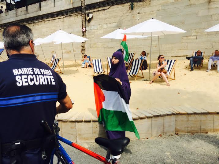 Tel Aviv sur Seine voilée
