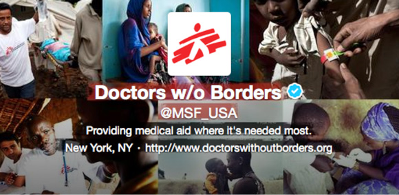 Doctors without Borders Twitter Header