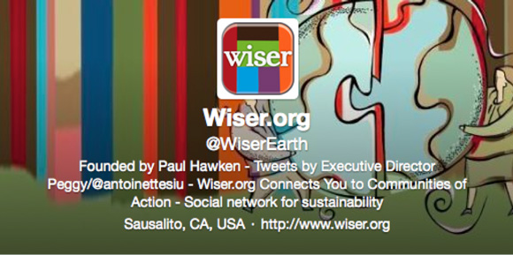 Wiser Earth Twitter Header