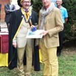 Consegna del diploma alla Fam.Angelino
