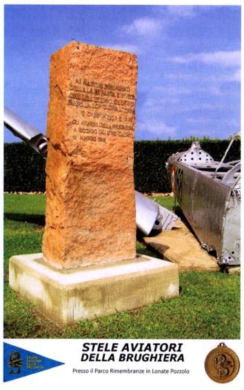 Cartolina cippo aviatori