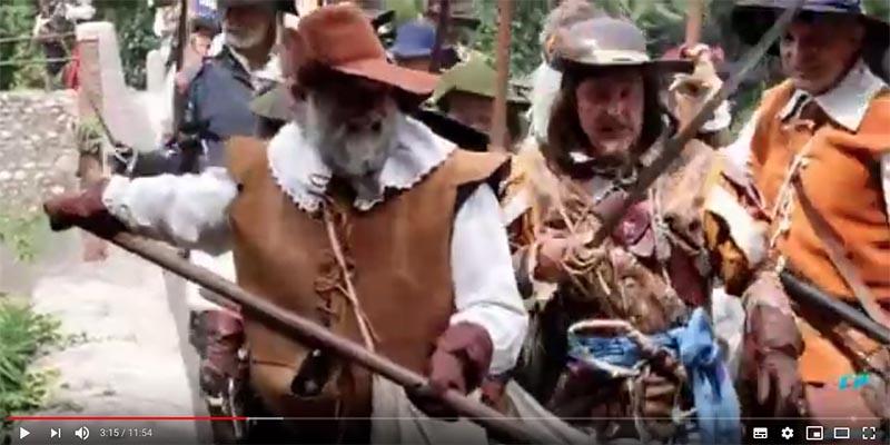 Fermo immagine del video della rievocazione 2018