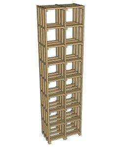 CaveauStar Weinregal CS-Basic-06 - 3D-Ansicht