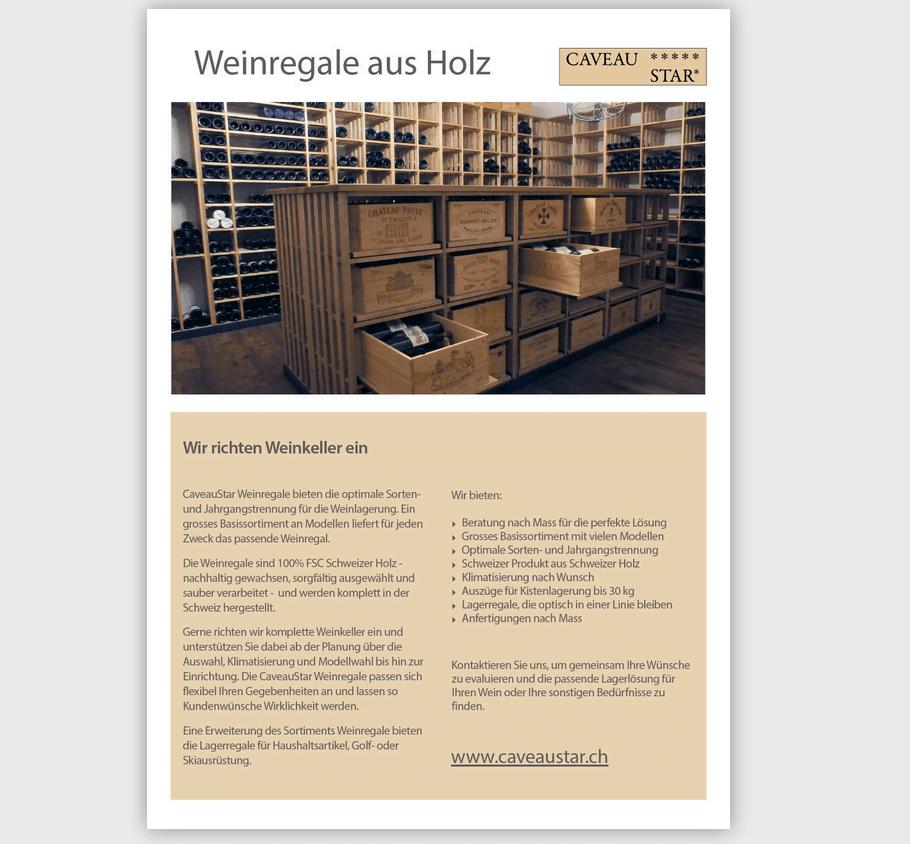 CaveauStar PDF Katalog