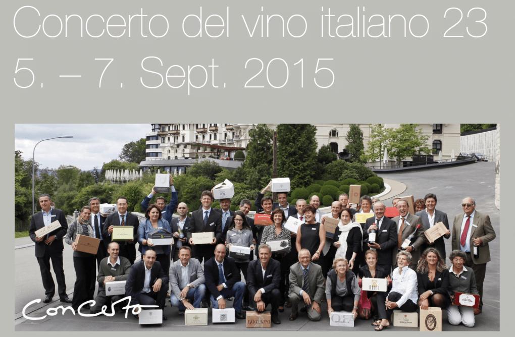 CaveauStar empfiehlt Concerto del vino von Caratello