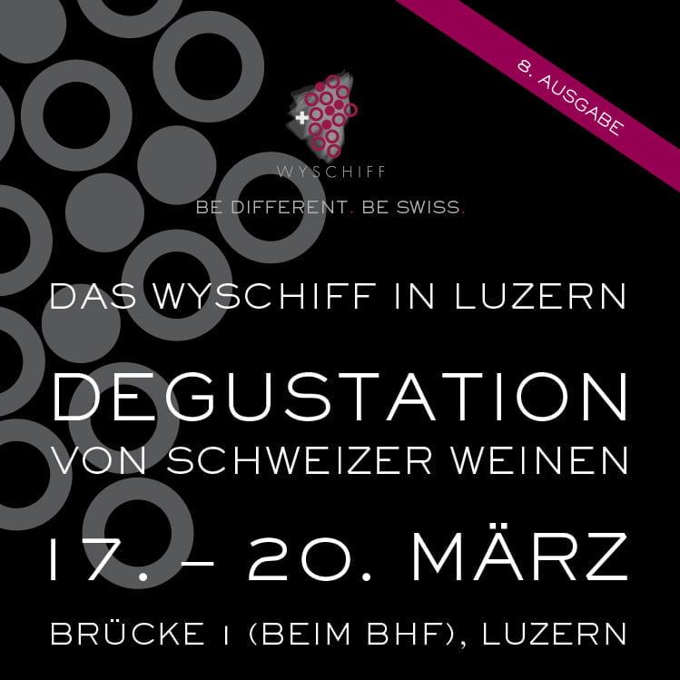 Plakat Wyschiff Luzern