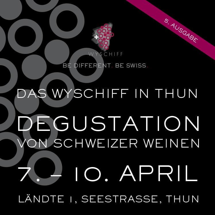 Plakat Wyschiff Thun